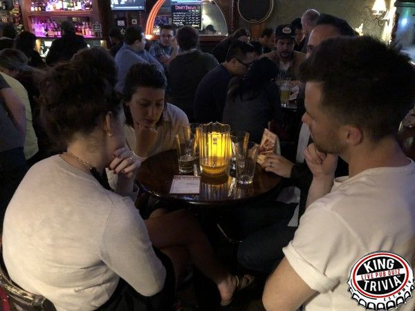 Quiz Recap 90 West Lounge Mon May 21 2018 King Trivia